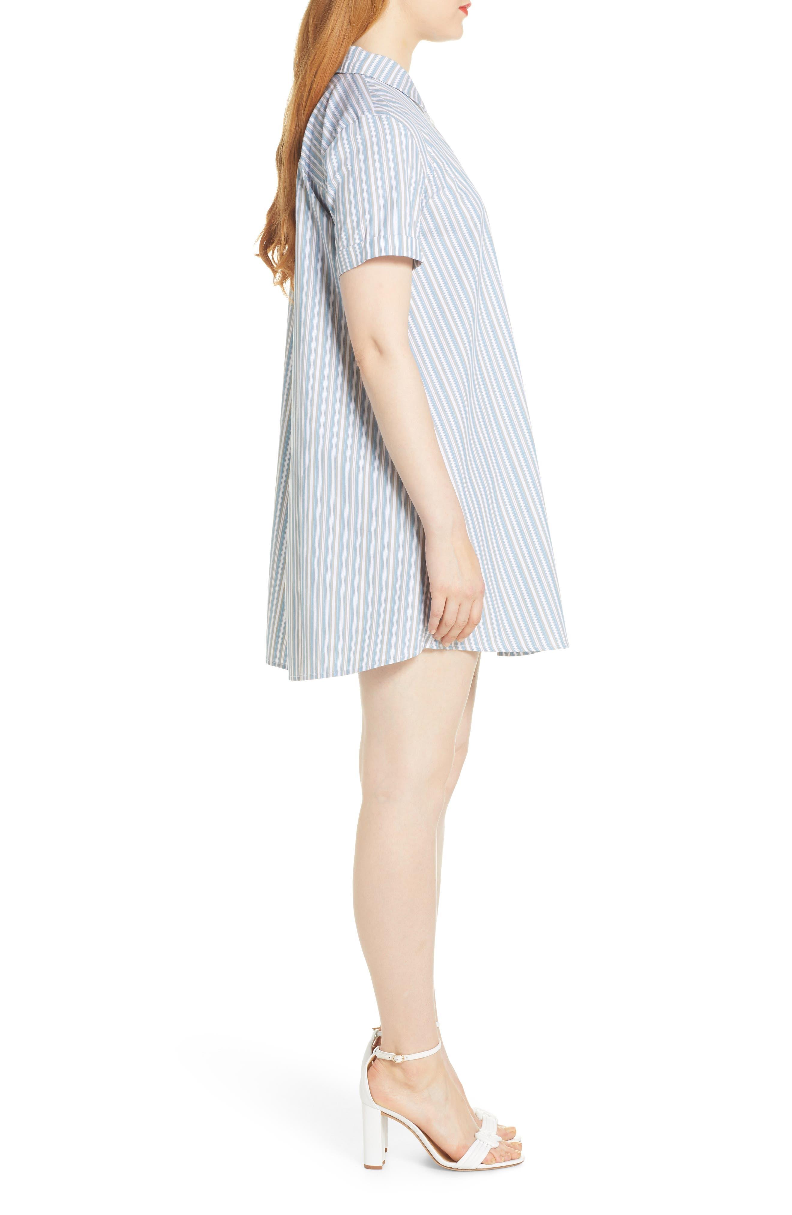 Bb Dakota Dresses Stripe A Personality Shirtdress