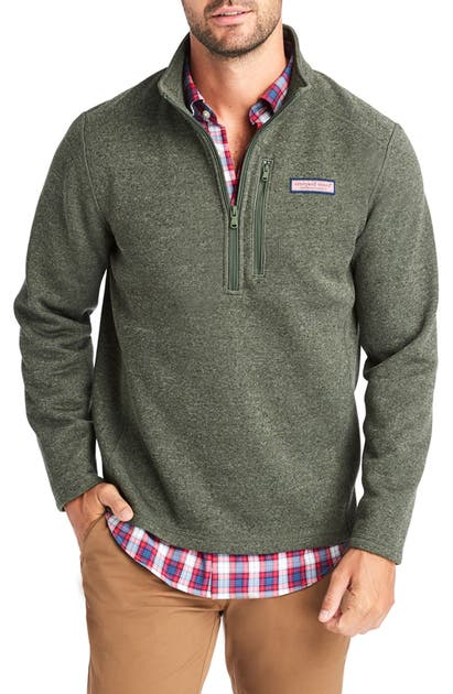 Vineyard Vines Tops SALTWATER QUARTER ZIP PULLOVER