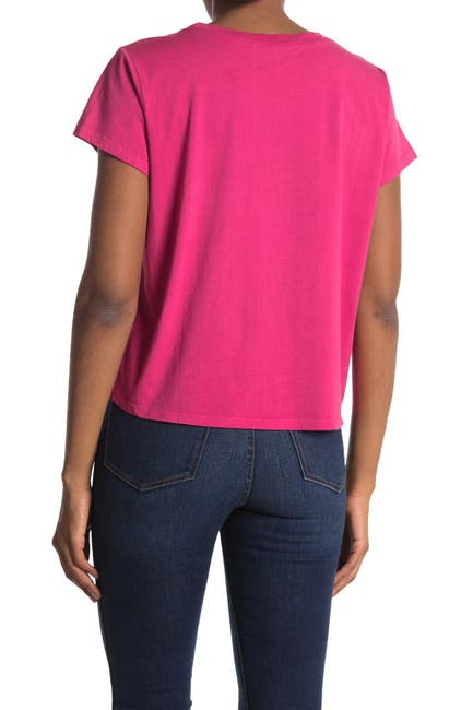 Image of PAM AND GELA Pocket Crew Neck T-Shirt