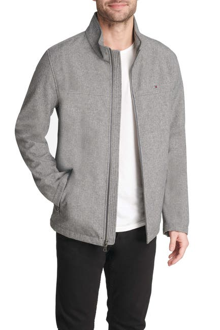 Image of Tommy Hilfiger Stand Collar Zip Jacket