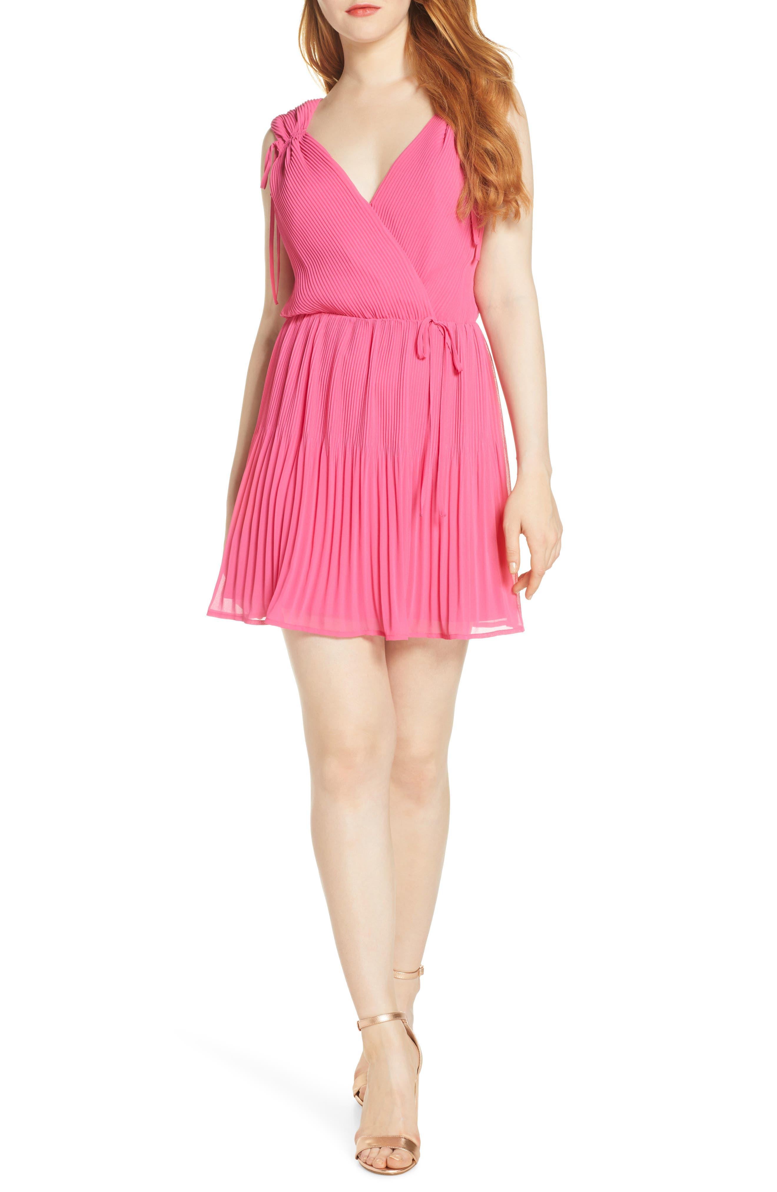 Ali & Jay X Dress Up Buttercup Plus One Minidress, Pink