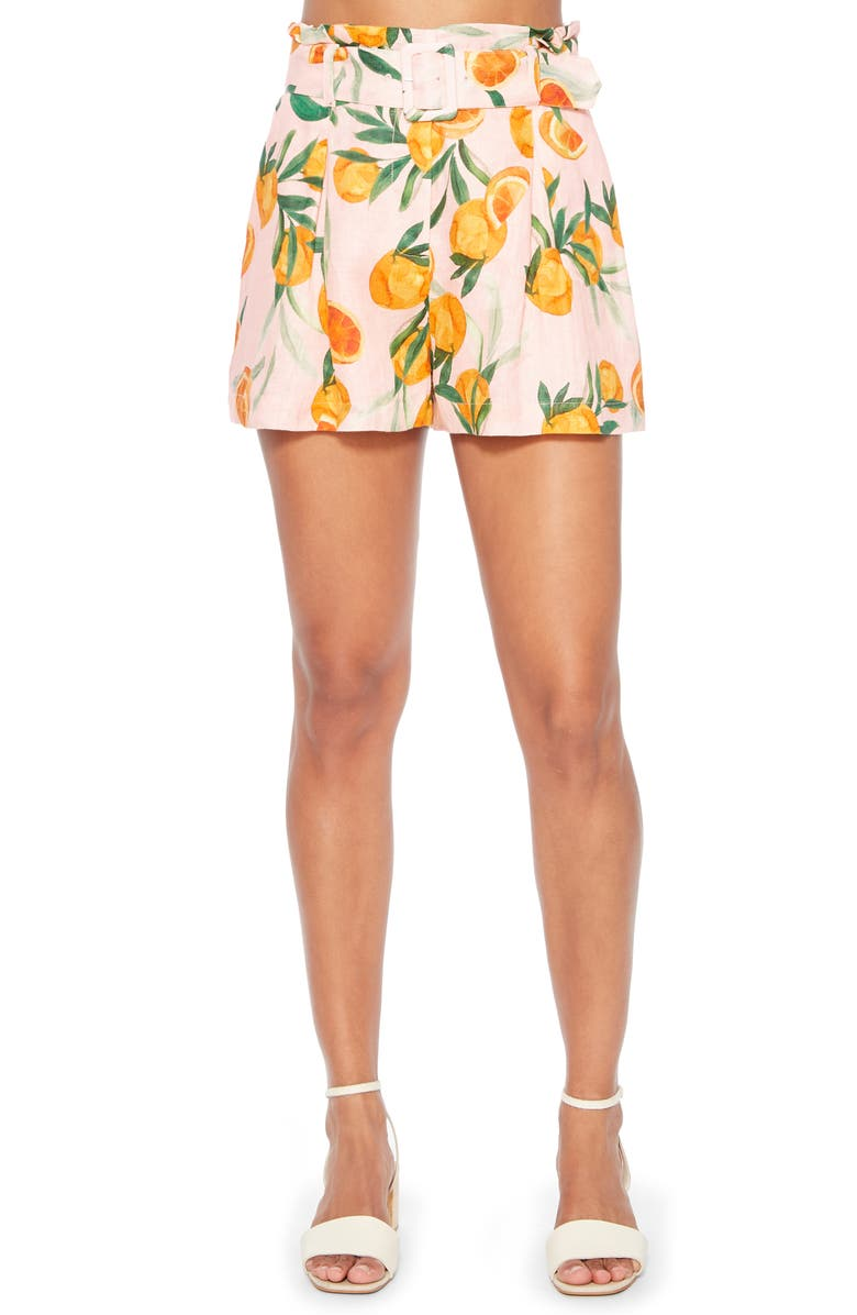 PARKER Carlo Belted Shorts, Main, color, 680