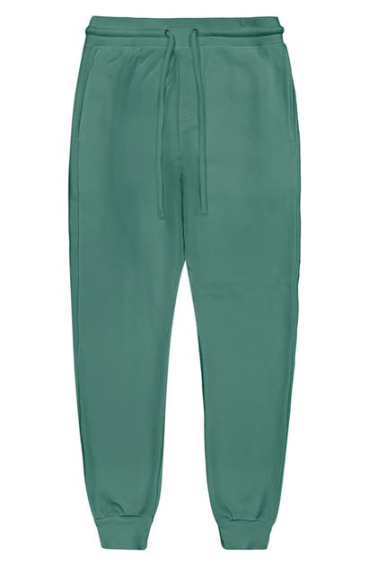 Goodlife Cotton Terry Slim Sweatpants In Pine