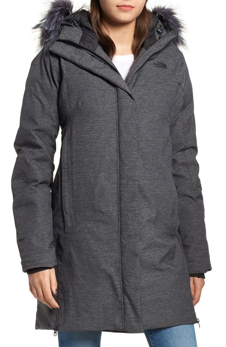 THE NORTH FACE Defdown Gore-Tex<sup>®</sup> 550 Fill Power Down Parka, Main, color, 021