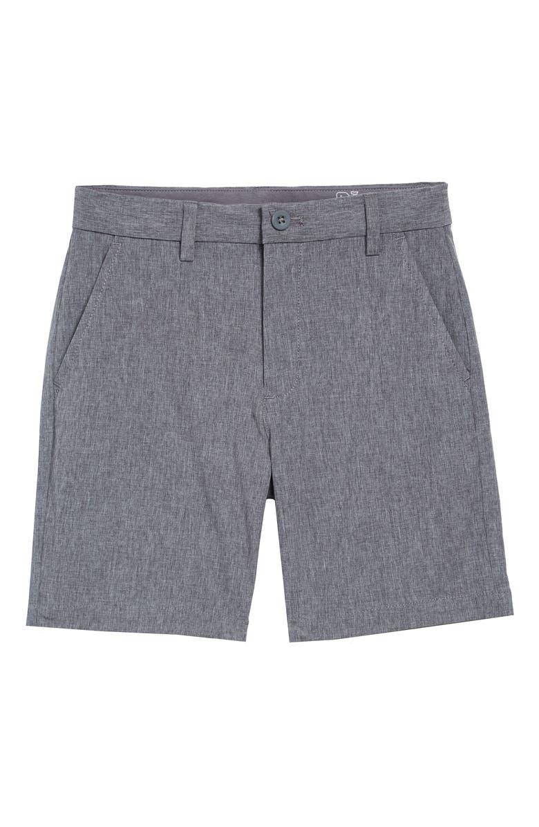 VINEYARD VINES New Performance Breaker Shorts, Main, color, GRAY HARBOR