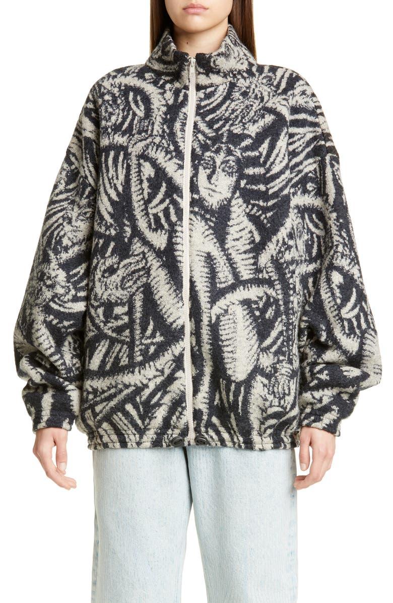 Y Project Wool Jacquard Jacket