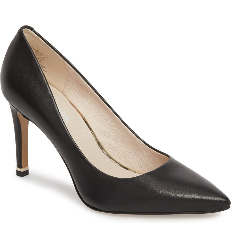 KENNETH COLE NEW YORK Riley 85 Pump, Main, color, BLACK LEATHER