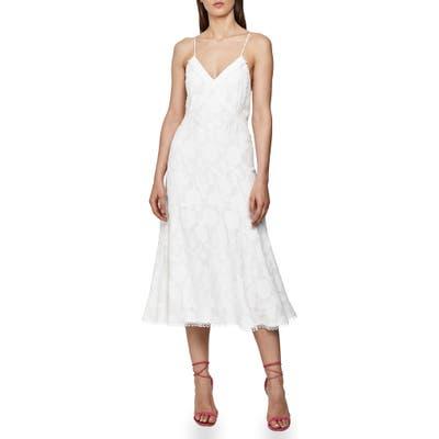 Reiss Ania Floral Jacquard Sundress, US / 6 UK - White