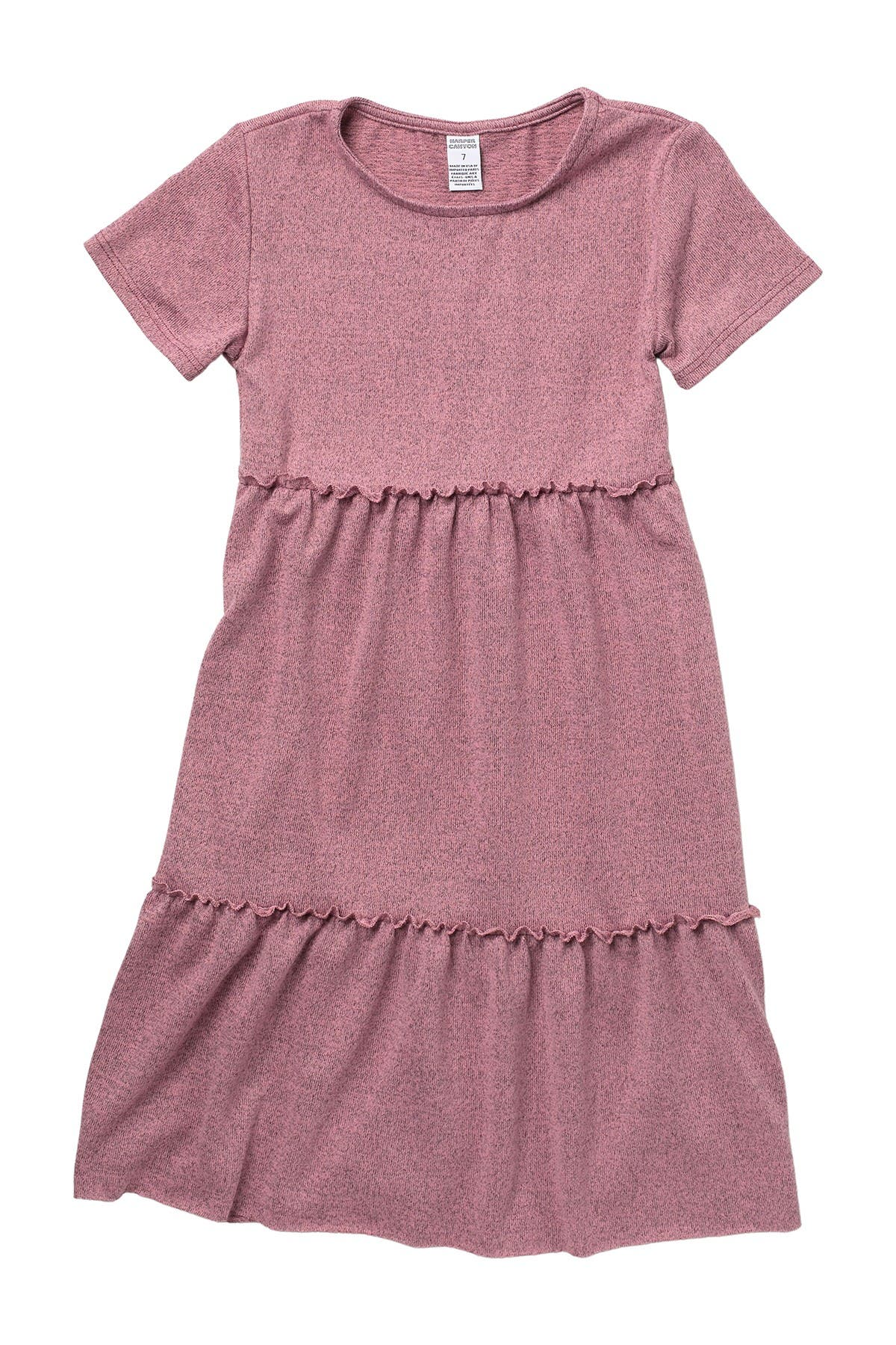 Image of Harper Canyon Heather Tiered Dress