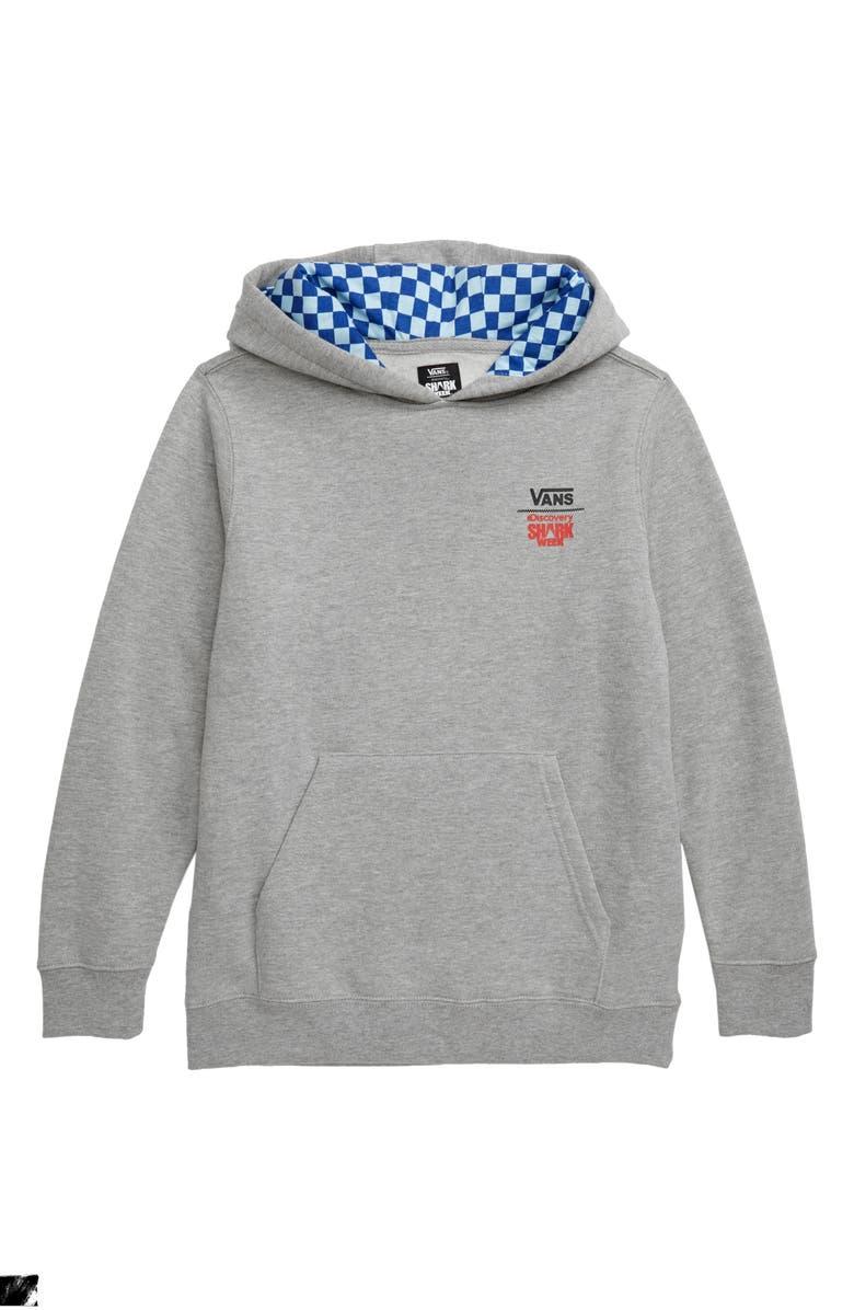 VANS x Shark Week Hooded Sweatshirt, Main, color, 021