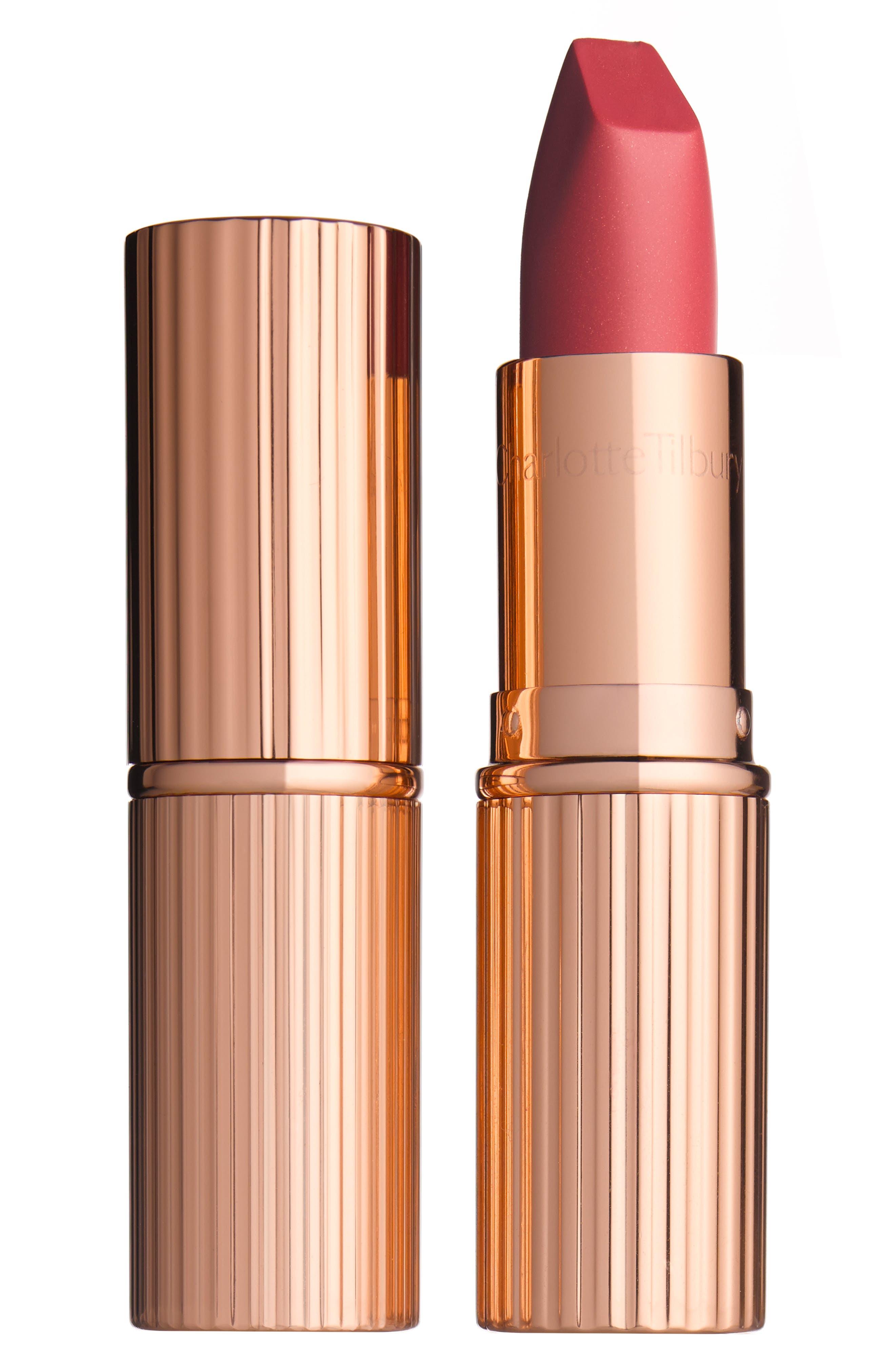 ,                             Matte Revolution Lipstick,                             Main thumbnail 1, color,                             AMAZING GRACE