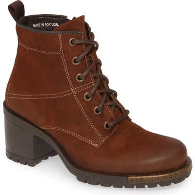 Fly London Last Bootie - Brown