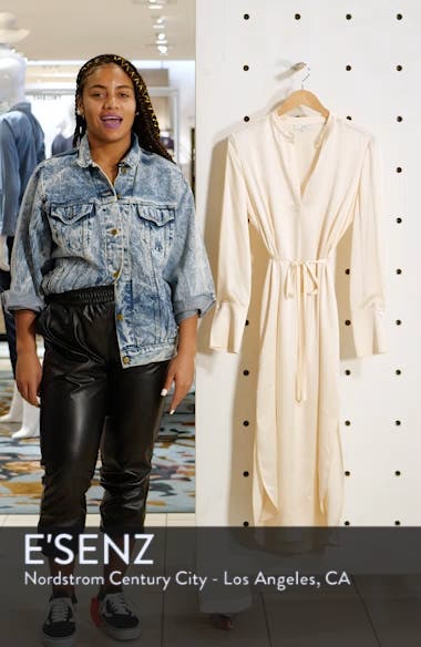 Silk Shirtdress, sales video thumbnail