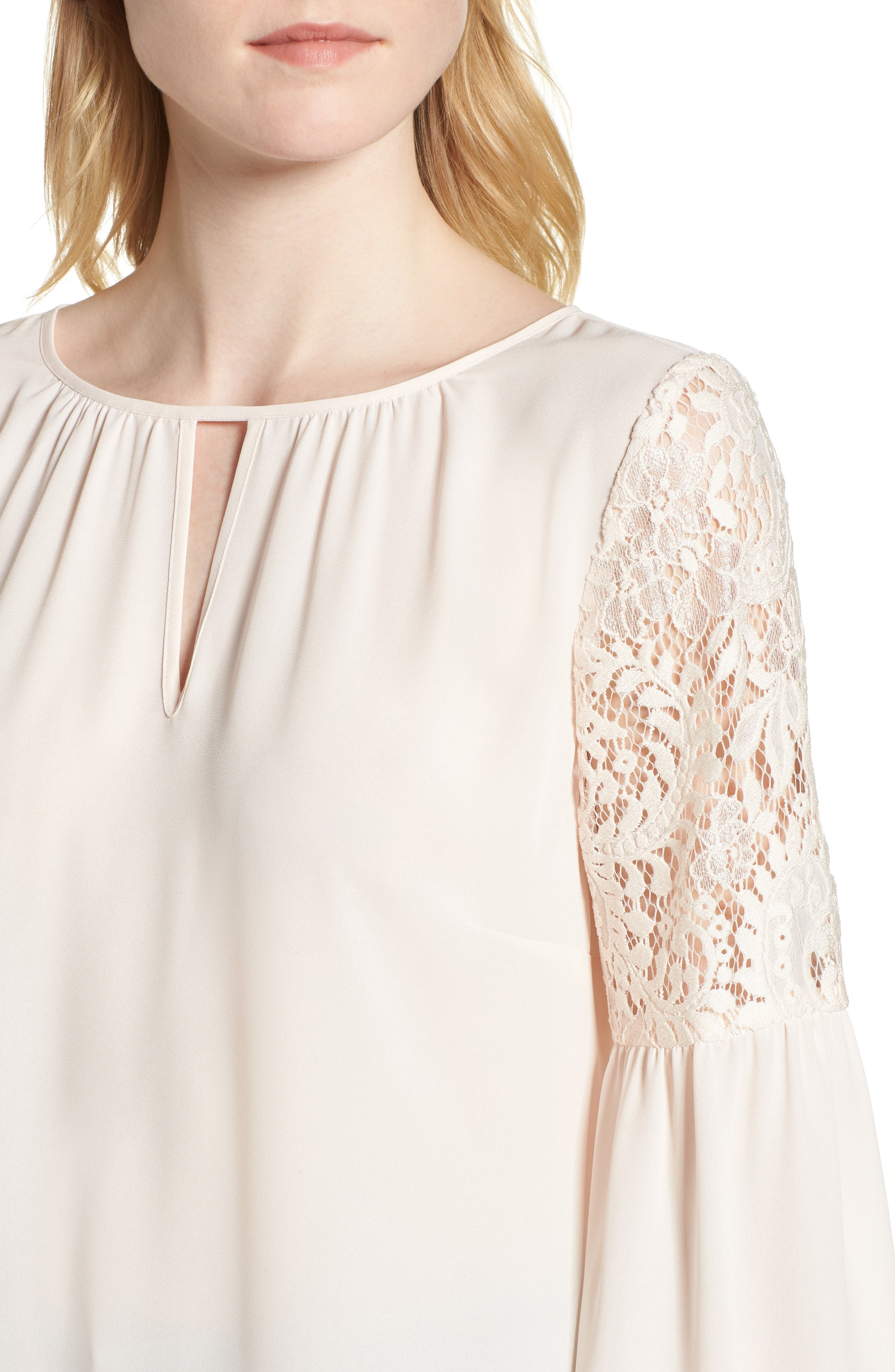 ,                             Lace Bell Sleeve Top,                             Alternate thumbnail 35, color,                             681