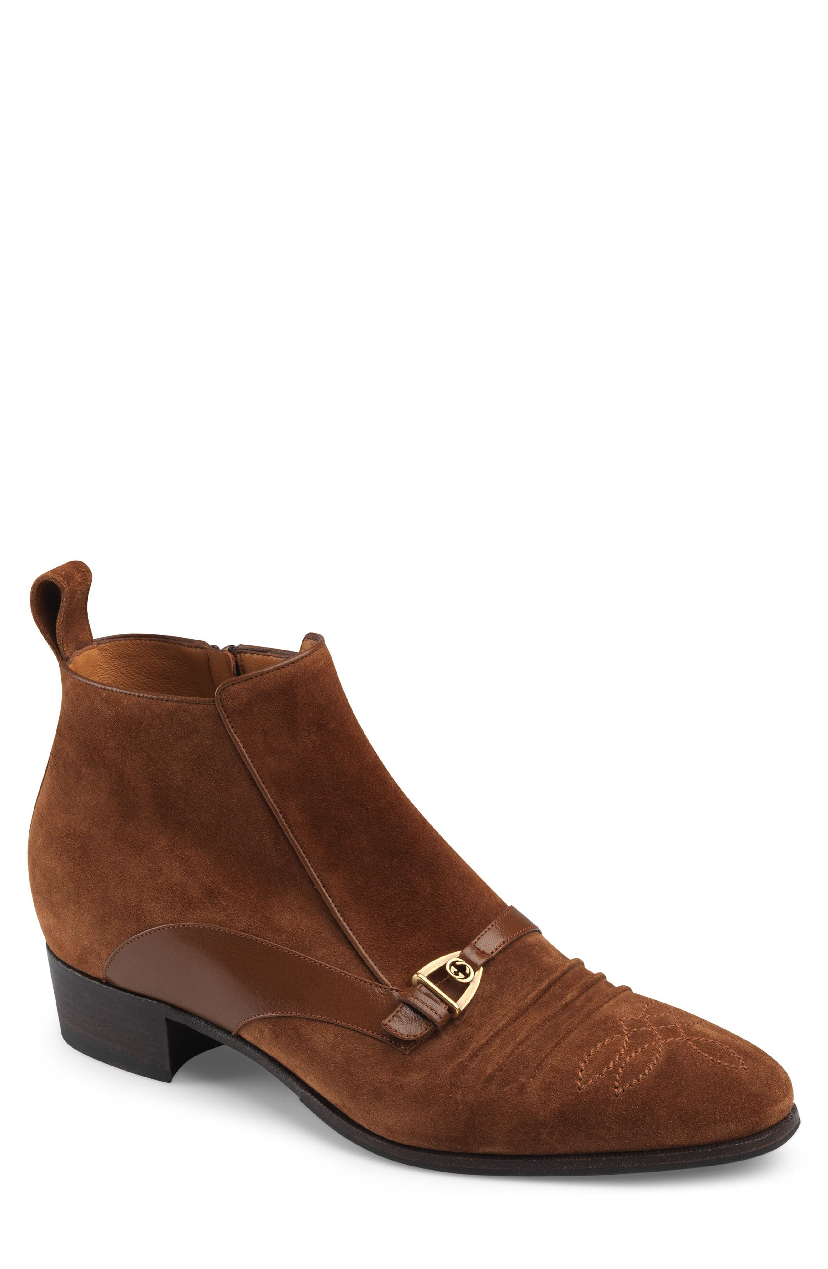 Gucci Moloch Boot, Brown