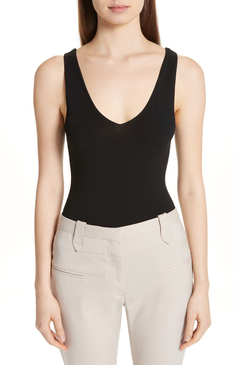 ALTUZARRA Bodysuit, Main, color, BLACK