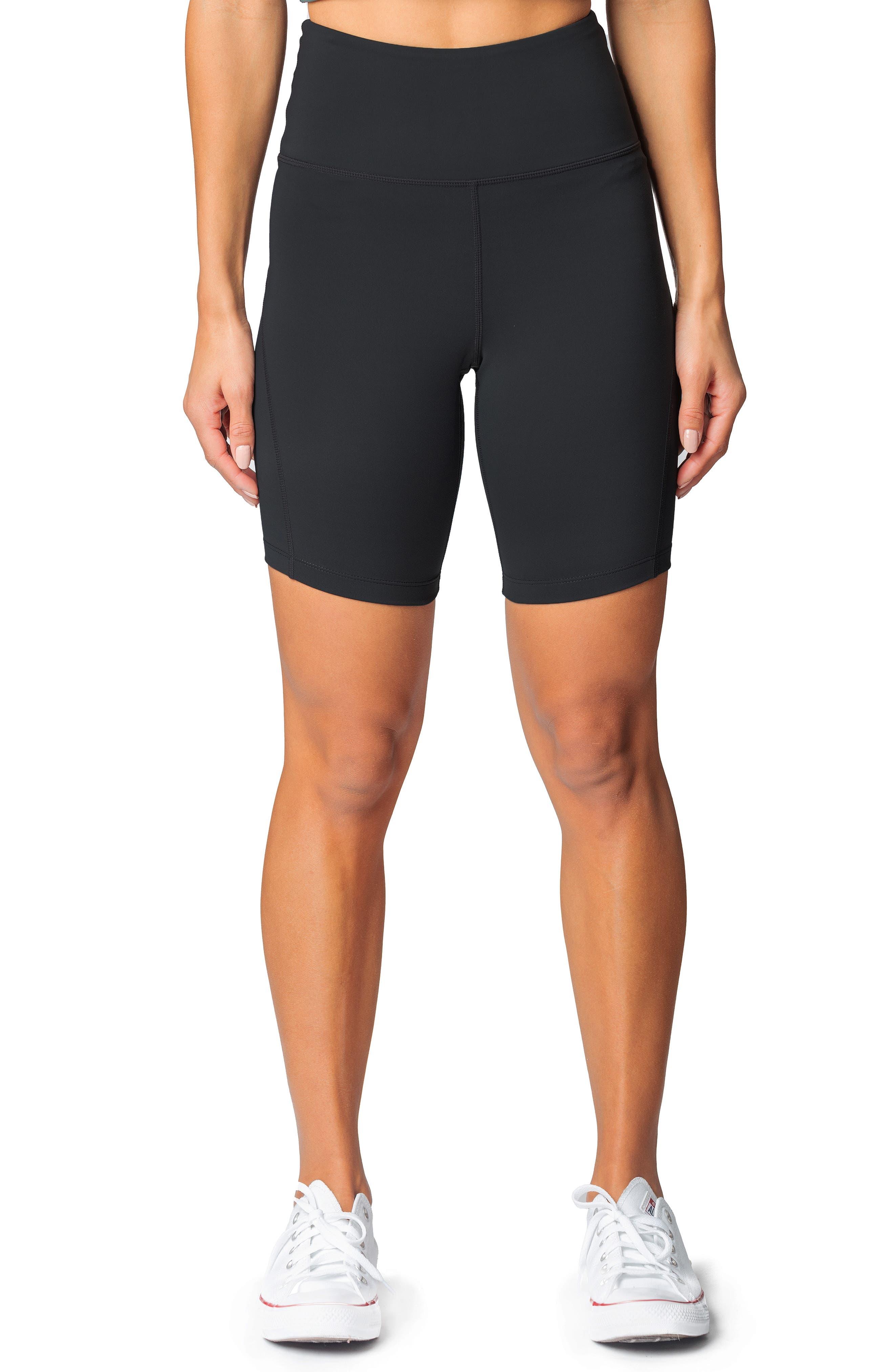 Mercer High Waist Bike Shorts