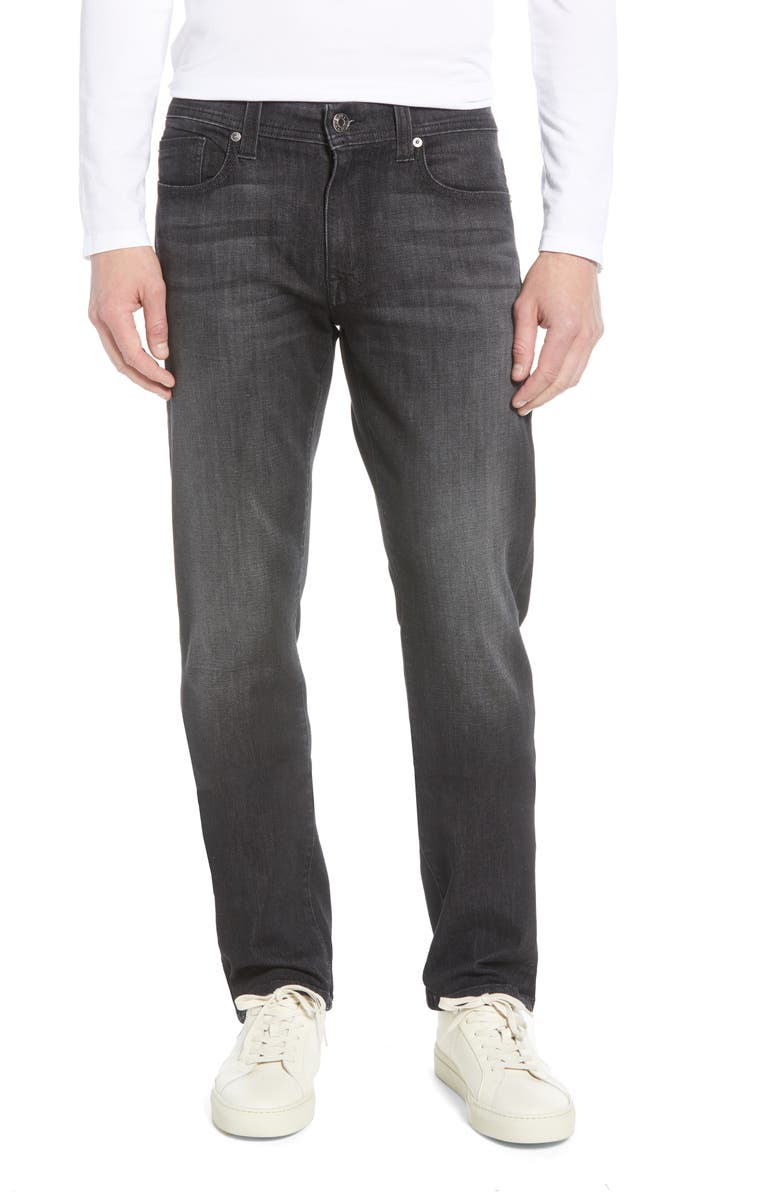 FIDELITY DENIM Jimmy Slim Straight Leg Jeans, Main, color, MALFOY