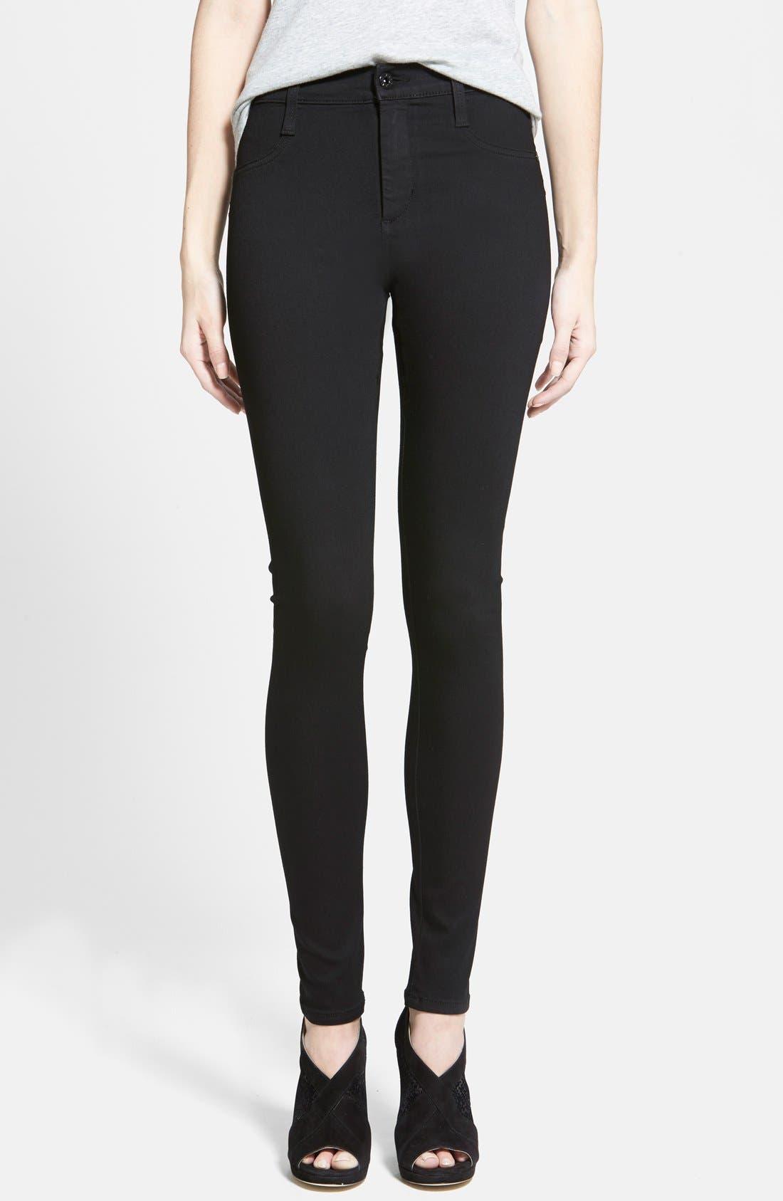 Seamless Yoga Leggings, Main, color, 001
