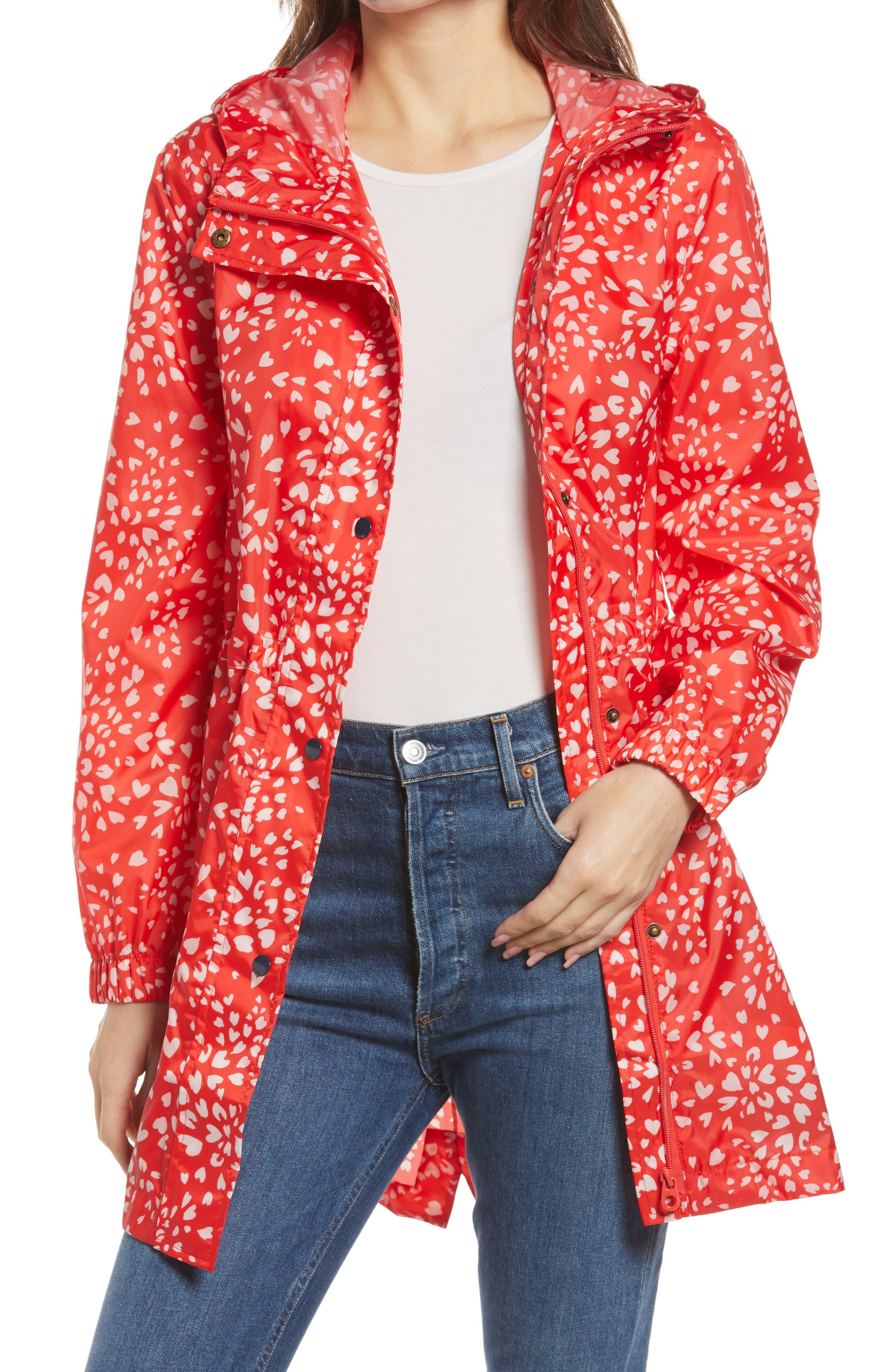 Golightly Print Raincoat