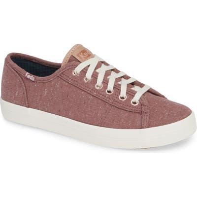 Keds Kickstart Sneaker- Burgundy