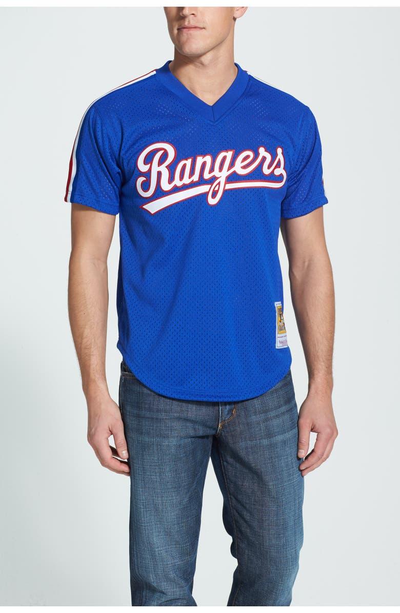 quality design f069a b3ae1 Mitchell & Ness 'Nolan Ryan - Texas Rangers' Authentic Mesh ...