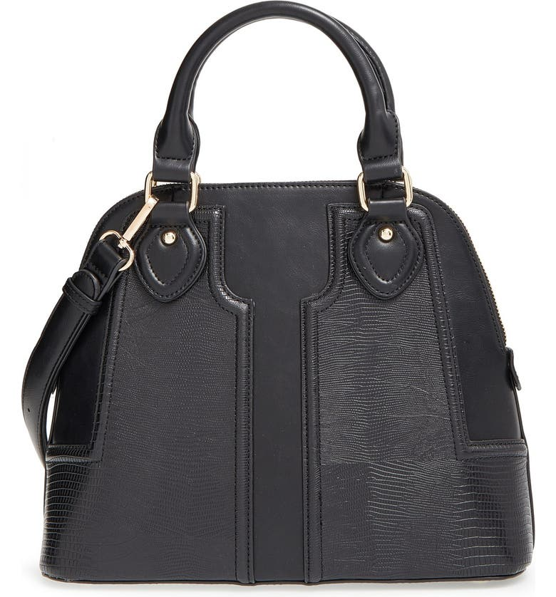 SOLE SOCIETY Dome Satchel, Main, color, 001