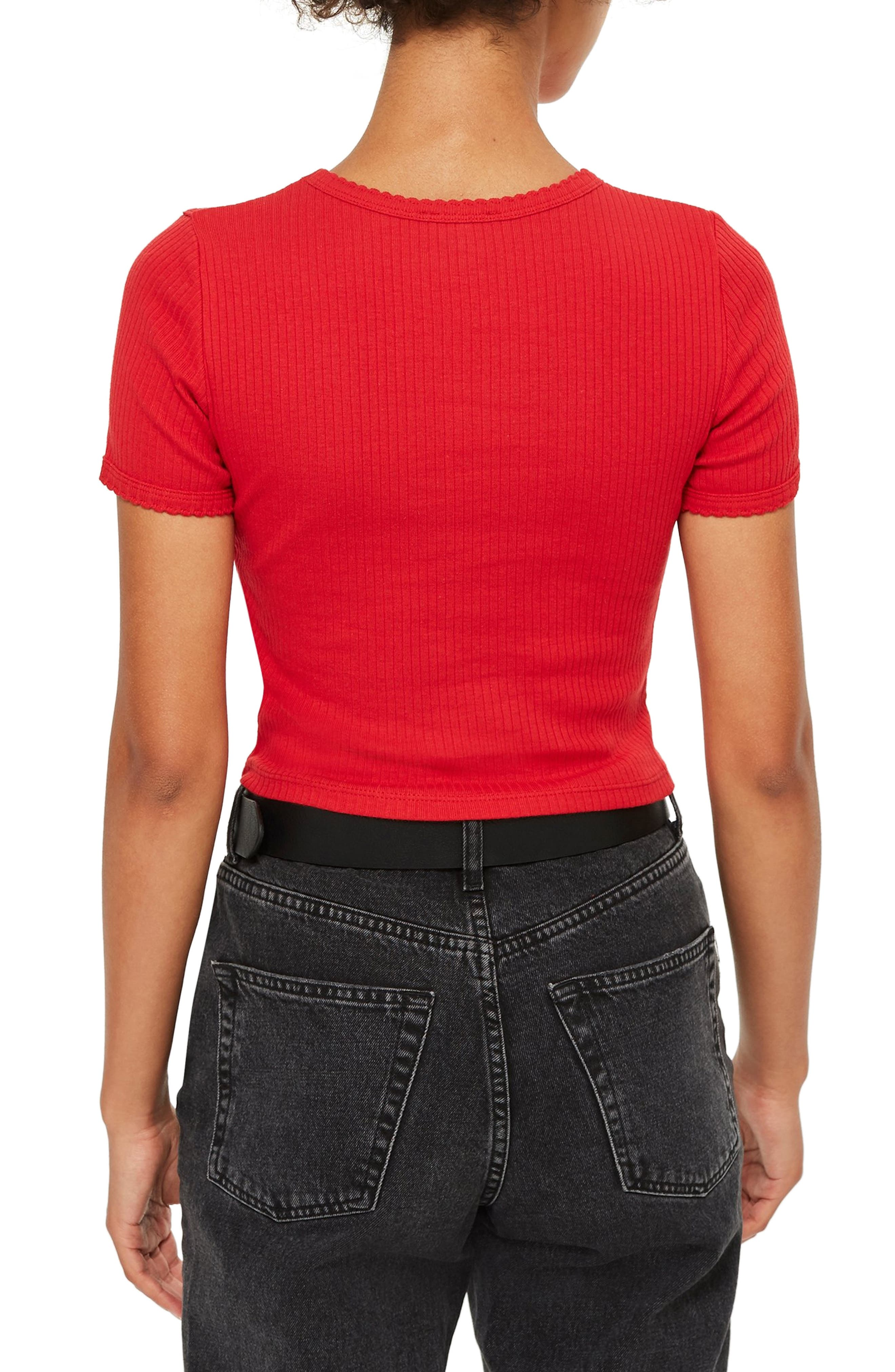 ,                             Scallop Edge Tee,                             Alternate thumbnail 17, color,                             600