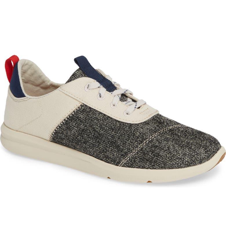 TOMS Cabrillo Sneaker, Main, color, BIRCH TECHNICAL KNIT/ CANVAS