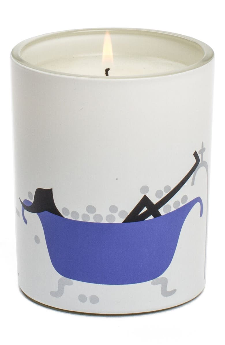 R. NICHOLS 'Breathe' Scented Candle, Main, color, 000