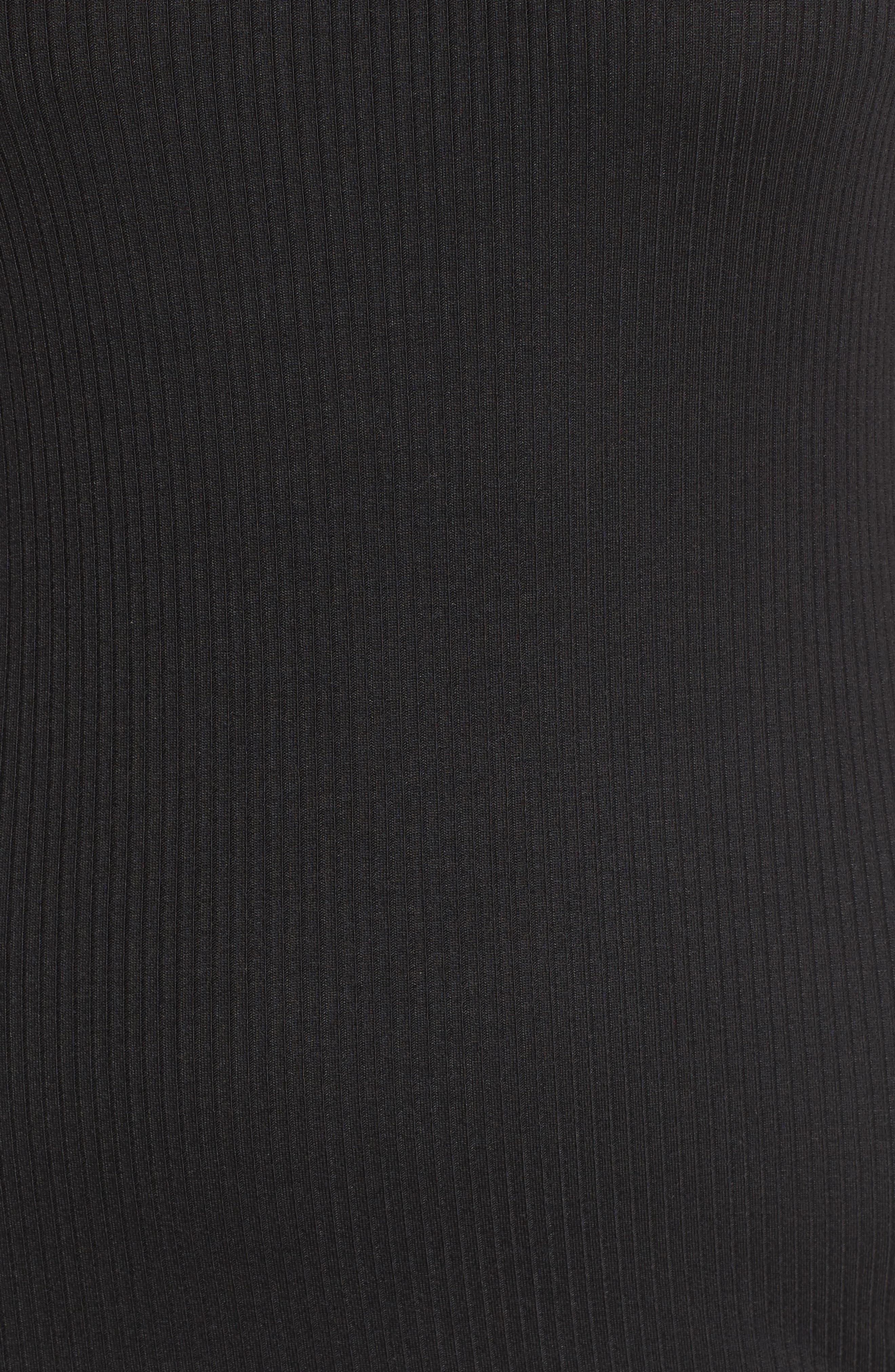 ,                             Rib Tank Dress,                             Alternate thumbnail 11, color,                             001