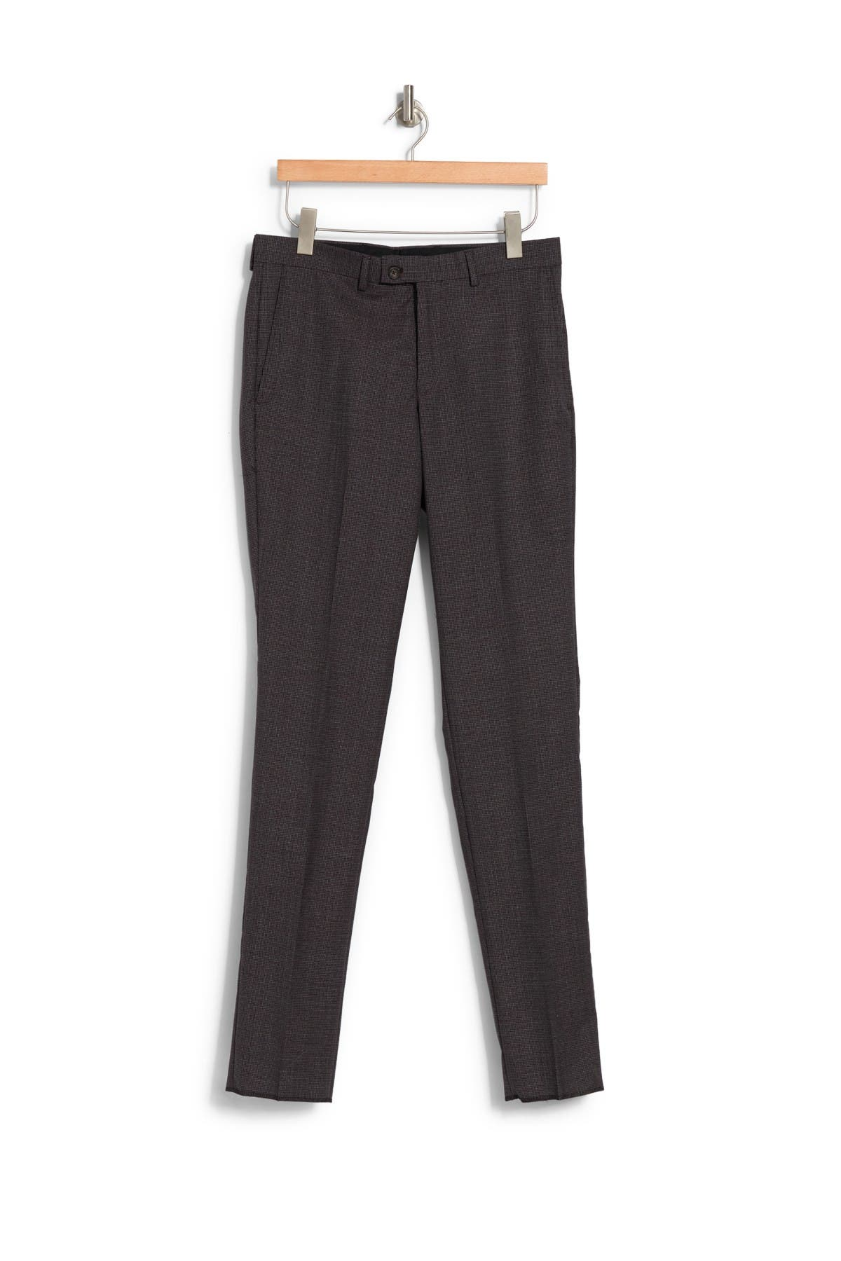 Image of Ted Baker London Slim Fit Wool Trousers