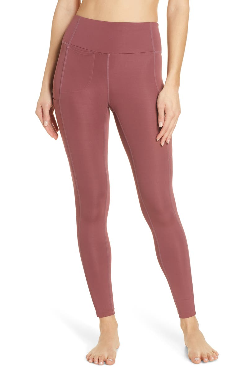 ZELLA Community Canyon Performance Ankle Leggings, Main, color, 938