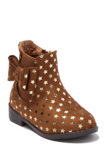 Image of Tahari Fez Foil Print Ankle Boot
