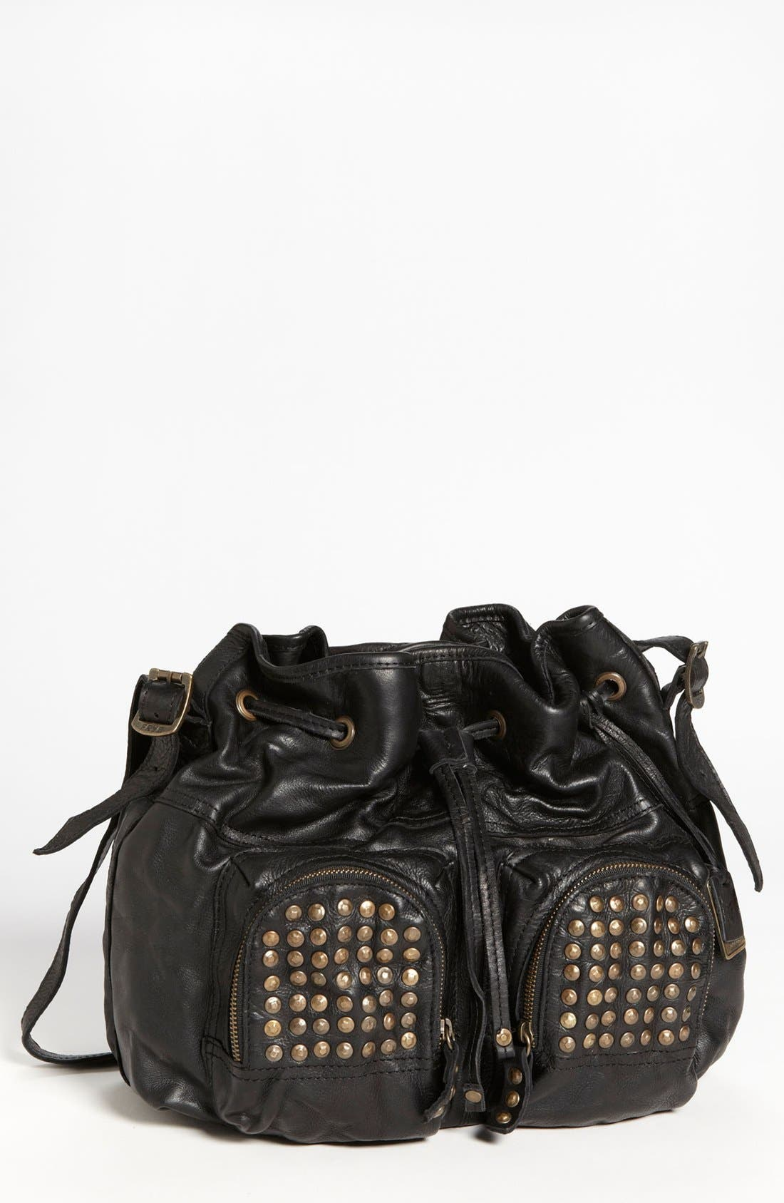 'Brooke' Drawstring Shoulder Bag, Medium, Main, color, 001