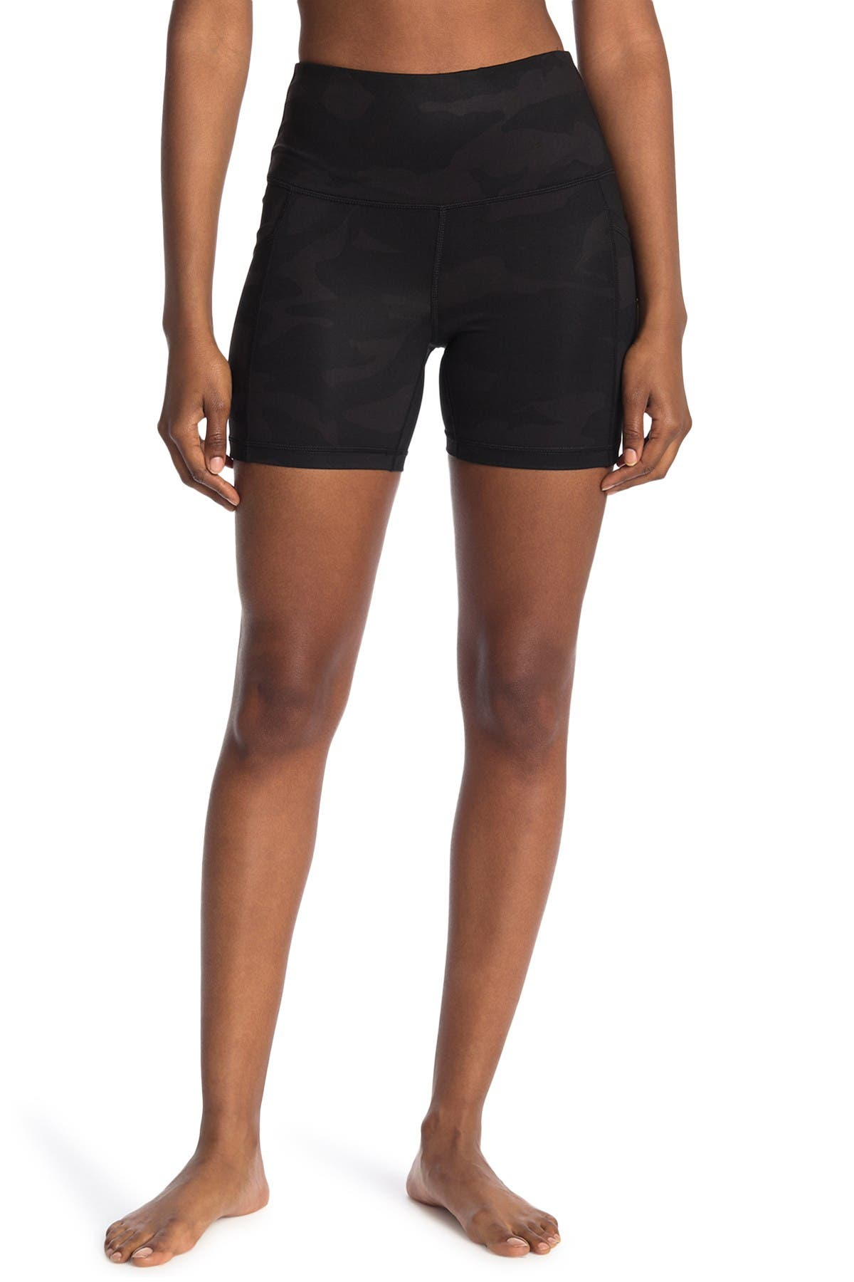 Image of 90 Degree By Reflex Luxe High Rise Bike Shorts