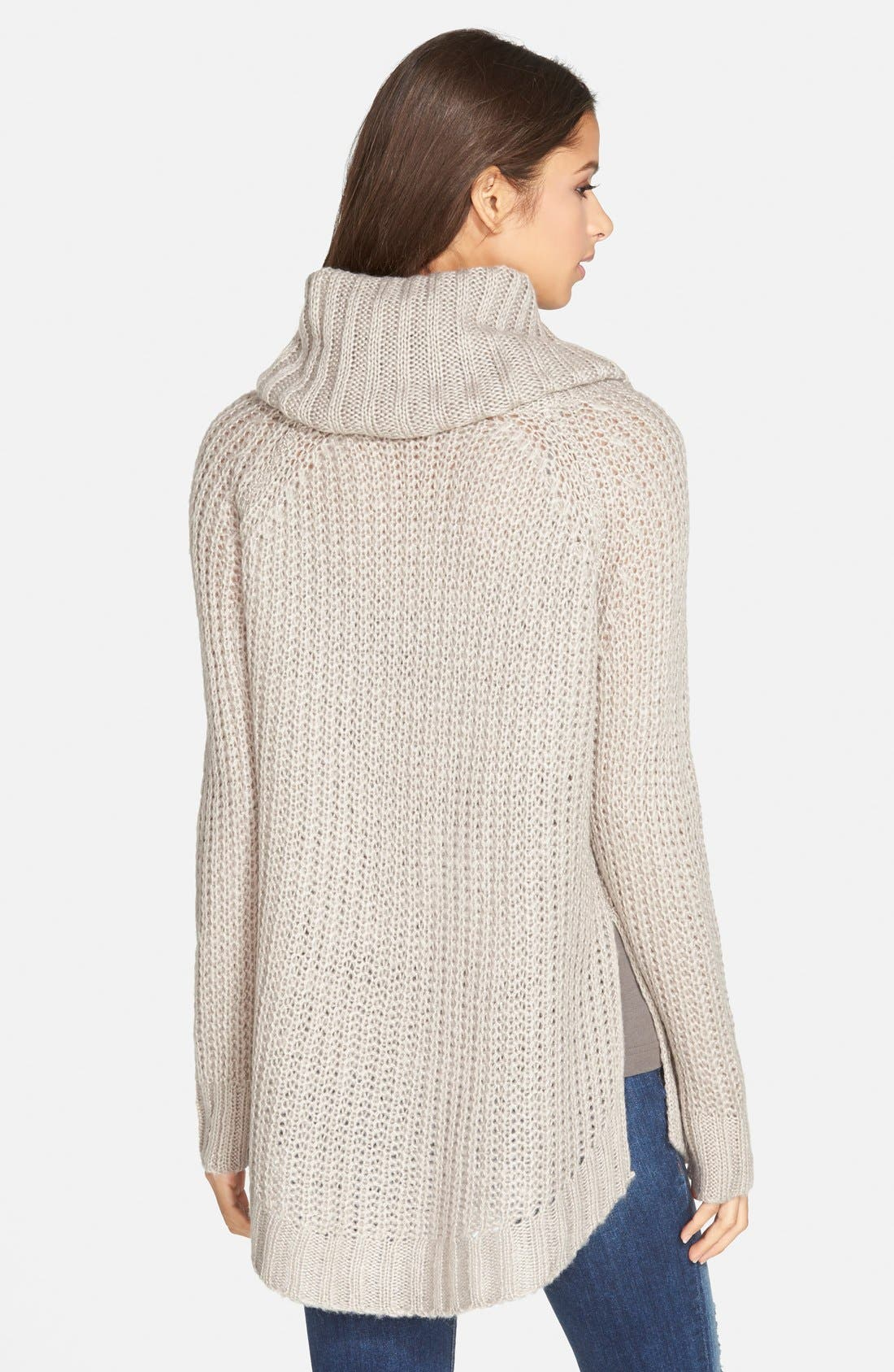 ,                             Cowl Neck Sweater,                             Alternate thumbnail 14, color,                             200