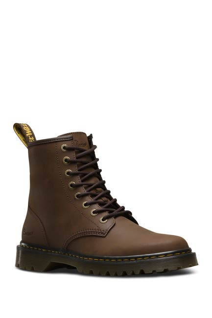 Image of Dr. Martens Awley Leather Lace-Up Boot