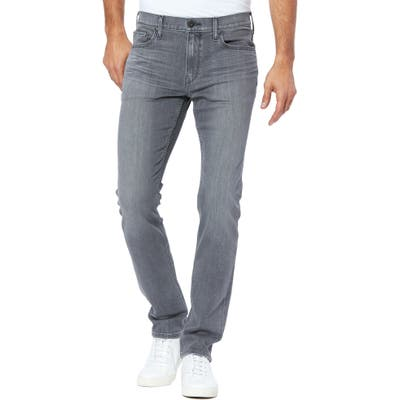 Paige Transcend Federal Slim Straight Leg Jeans, Grey