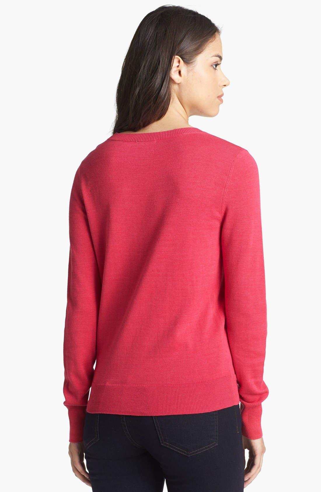,                             'Letterman' Sweater,                             Alternate thumbnail 13, color,                             650