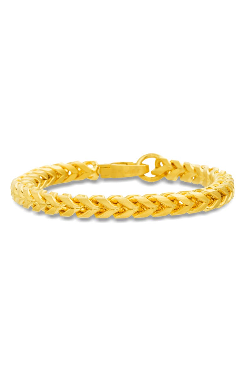 STEVE MADDEN 'Franco' Chain Bracelet, Main, color, GOLD