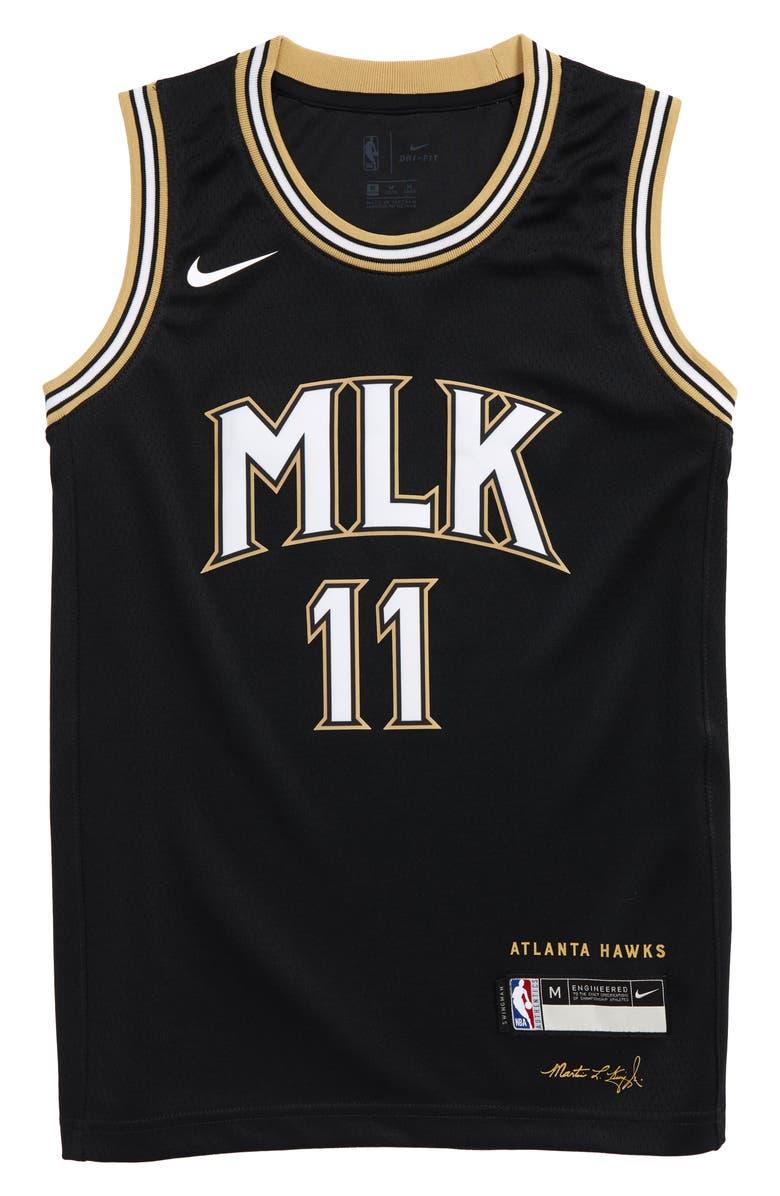 Nike Kids' NBA Atlanta Hawks Trae Young City Edition Swingman ...