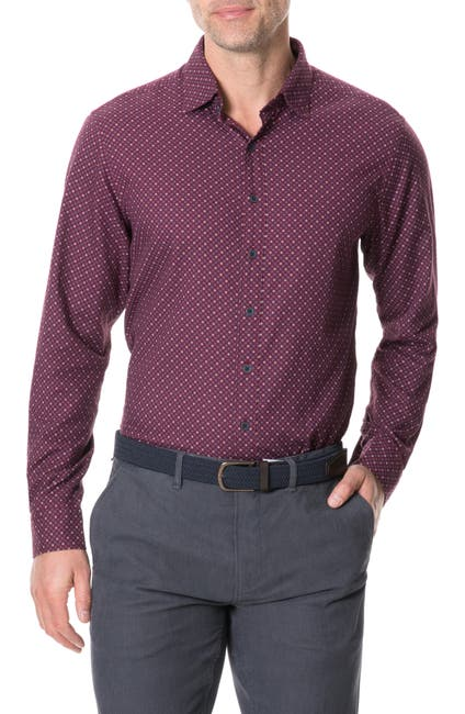 Image of RODD AND GUNN Meadowood Regular Fit Button-Up Shirt