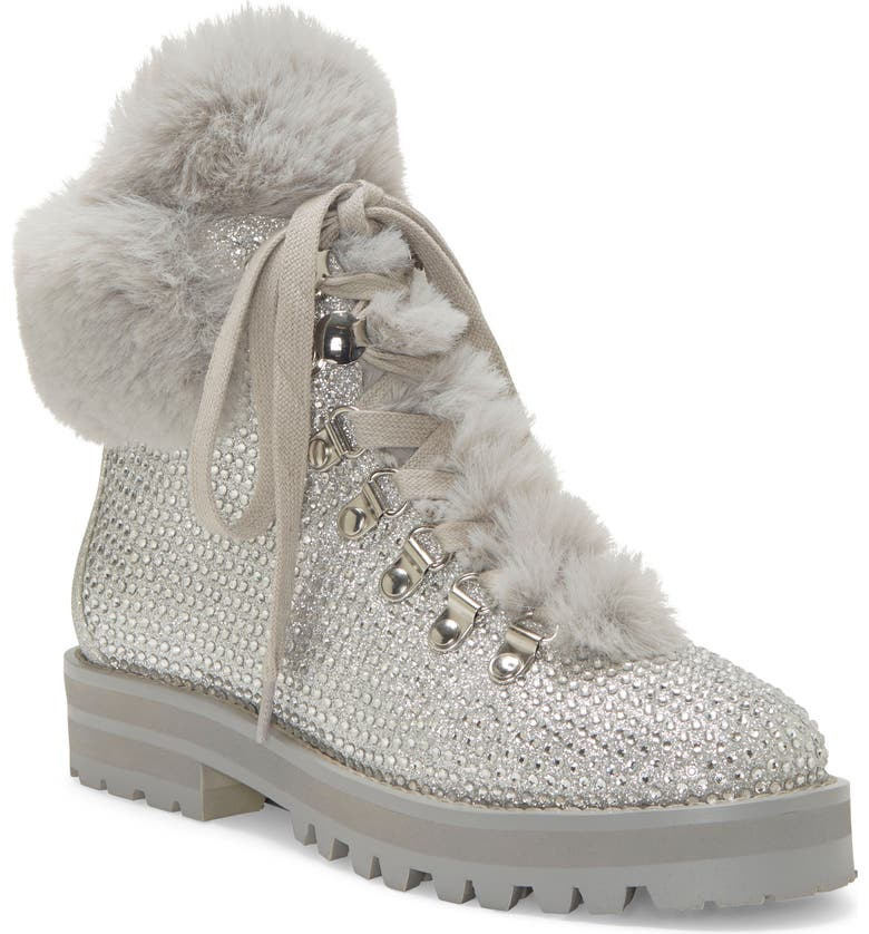 JESSICA SIMPSON Norina Boot, Main, color, SILVER SUEDE