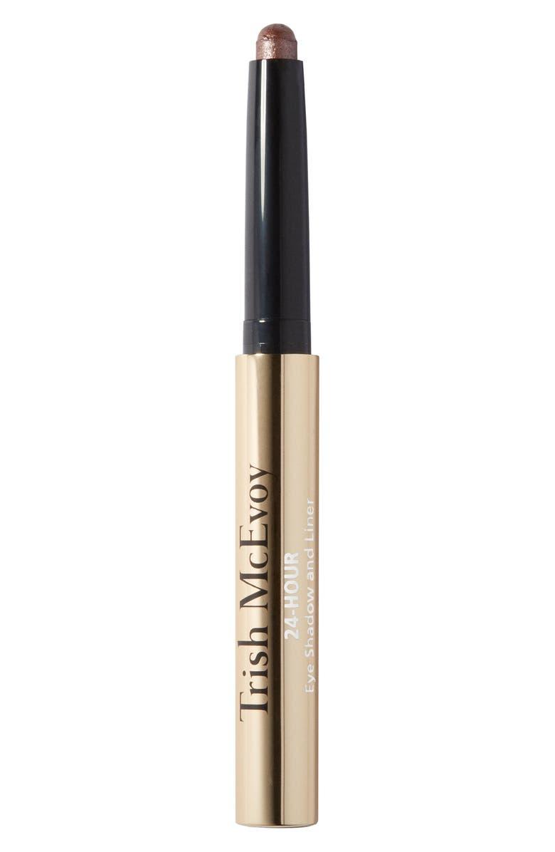 TRISH MCEVOY 24-Hour Eyeshadow & Eyeliner, Main, color, SMOKEY QUARTZ