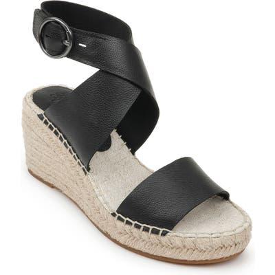 Splendid Addie Wedge Espadrille Sandal, Black
