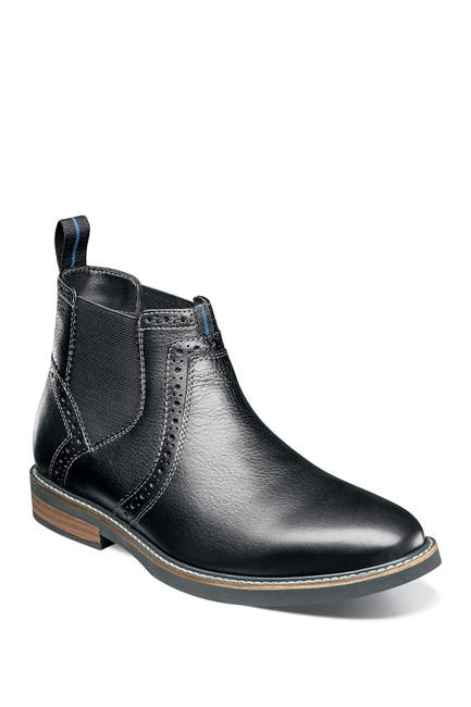 Image of NUNN BUSH Otis Leather Plain Toe Chelsea Boot - Wide Width Available