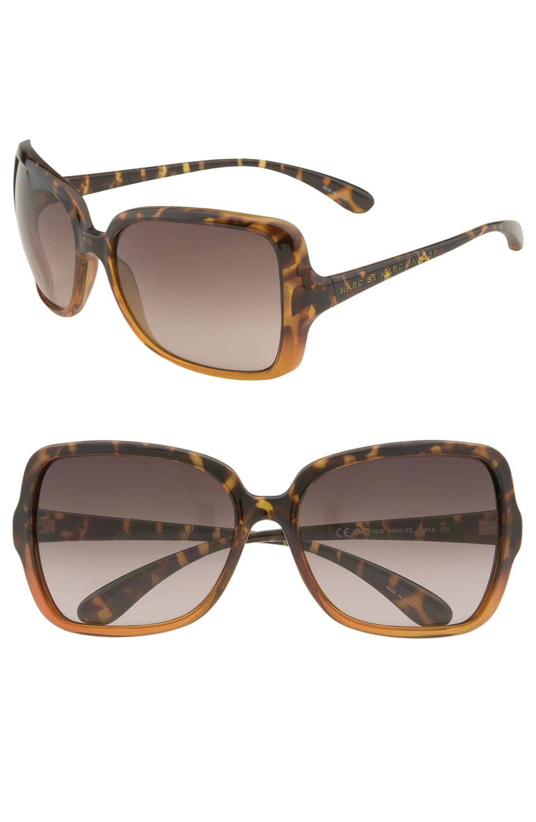 ,                             59mm Vintage Inspired Oversized Sunglasses,                             Main thumbnail 3, color,                             200