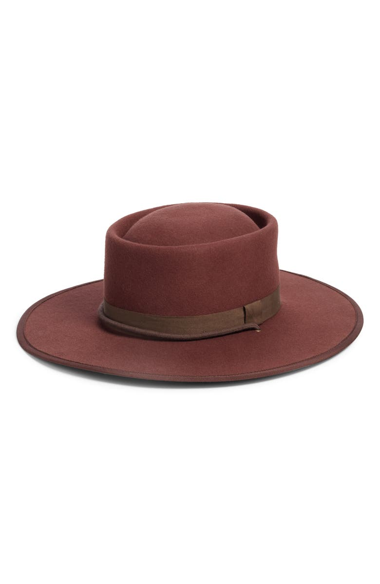 26d33d52f0f7 Madewell Dipped Crown Felt Hat (Nordstrom Exclusive)   Nordstrom