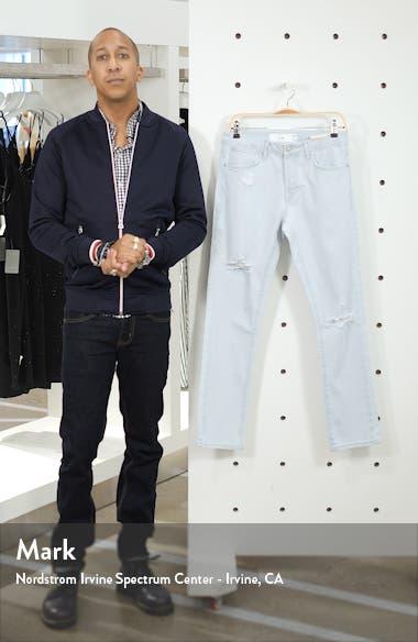 Kai Bleach Slim Fit Ripped Stretch Jeans, sales video thumbnail